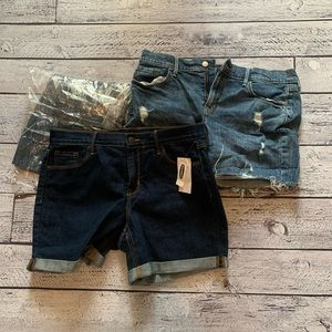 NWT lot of old navy shorts